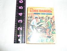Lone Ranger Big Little Book- Rare-