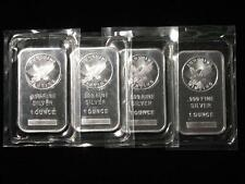 1 oz Silver Bar - Sunshine Minting w/ Mint Mark SI - One Troy Ounce Ingot 999
