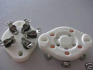 Tube Socket For BEAM TETRODE G-807 G807 1625 5933,C51