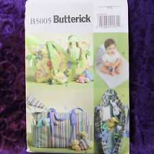 Butterick 5005 Diaper Pacifier Bag Changing Pad Pattern