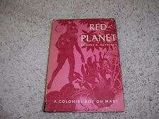 RED PLANET by Robert A. Heinlein/1st Ed/HCDJ/Literature/Fiction/Science Fiction