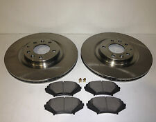 MAZDA RX8 FRONT BRAKE DISCS AND BRAKE PADS 323MM 2003> ON