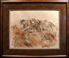 "Lisa Lynch ""Gesture Horse"" 2003 limited edition Hand Signed framed L@@K"