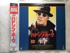 Hudson Hawk Japanese NTSC LaserDisc LD OBI