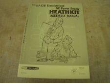 Heathkit HP-13B original manual