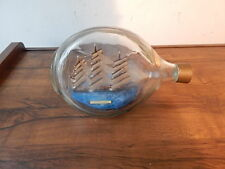 VINTAGE 10 INCH LONG CUTTY SARK SHIP IN A BOTTLE MADE IN ENGLAND INTERNATNL SALE