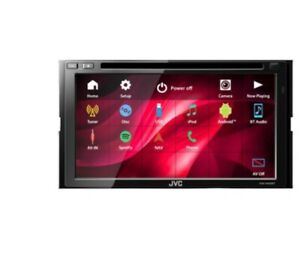 JVC KW-V440BT 2-DIN Bluetooth Waze SiriusXM Ready In-Dash DVD CD Car Stereo