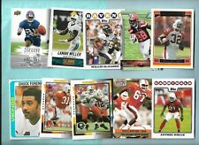 Miami Hurricanes 1974 - 2015 125 card lot Jim Kelly James McGahee Rolle Foreman