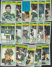 1982 - 83 OPC Team SET Lot of 17 Minnesota NORTH STARS NM+ o-pee-chee Dino SMITH