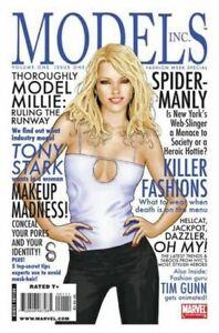 Models Inc #1-4 Comic Set 2009 - Marvel Comics - Mary Jane Millie the Model