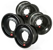 TRX 300EX Front & Rear  ATV Wheel Kit - A6 Rolled Lip, 10x5 3+2, 9x8 3+5