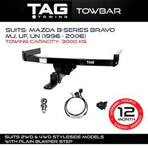 TAG Towbar Fits Mazda B-SERIES Bravo 1996 - 2006 Towing Capacity 3000Kg 4x4 4WD
