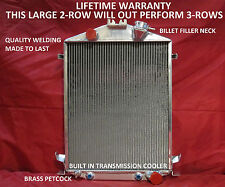 1928 1929 1930 1931 Ford Model A Street/Rat Rod Aluminum Radiator Chevy V8