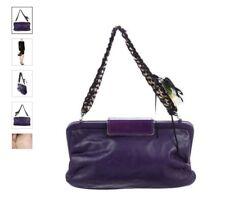Marni Beat Mini Shoulder Bag  Purple Leather