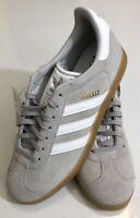 adidas Men's Gazelle DA8873 Sneakers US size 8 Grey White Gum