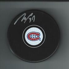Mike Condon Signed Montreal Canadiens Puck