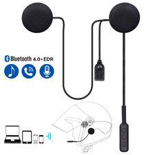Motorcycle Helmet Speaker Bluetooth 4.0 Headset Headphone for Music Call GPS