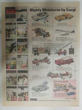 New Corgi Juniors Ad: Chitty Chitty Bang Bang ! from 1969 Size: 11 x 15 inches