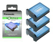 PANASONIC WES035P VORTEX NETTOYAGE RASAGE SYSTÈME SOLUTION CARTOUCHES x 3