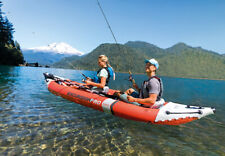 Genuine Intex Excursion Pro K2 Kayak Canoe River Lake Boat Oars Inflatable 68309