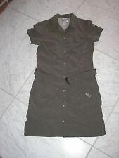 Jack Wolfskin Kleid mit Gürtel schnelltrocknend oliv - dunkelgrün Gr. 36*wie neu