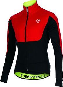 Castelli Passo Giau Men's Windstopper Cycling Jacket Size 2 Colors Large