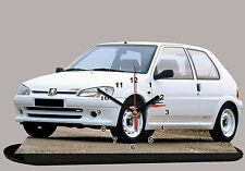 MINIATURE PEUGEOT 106 RALLYE NOIR Peugeot-106-rallye-02 en horloge