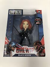 Metals Die Cast Marvel M48 Captian America Civil War Black Widow