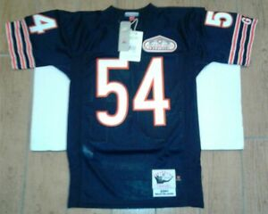Mitchell & Ness Brian Urlacher Chicago Bears Blue Authentic Jersey Size Small
