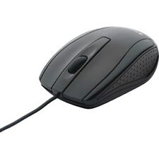 Verbatim Corded Notebook Optical Mouse - Black