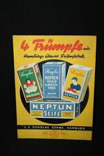 Douglas Seifenfabrik Hamburgo Pappaufsteller Cartel Publicitario 21 X 29,5 cm -