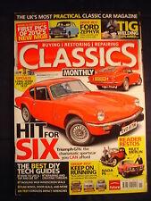 Classics Monthly - Nov 2011 - MGB Screen seals - GT6 - Zephyr