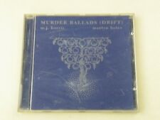 M.J. HARRIS MARTYN BATES - MURDER BALLADS(DRIFT) CD 1994 - DARK AMBIENT NM/NM-DP