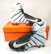 Nike Vapor Untouchable 3 Elite Football Cleats Black White Ah7408-102 Size 9.5