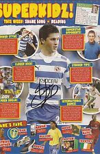 READING: SHANE LONG SIGNED A4 (12x8) MAGAZINE PICTURE+COA
