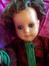 Bildhübsche Schildkröt Puppe Ursel 60er 70er schnuckliges Gesicht toll erhalten