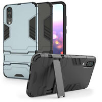 Huawei P20 / P20 Pro Schutz Hülle Heavy Duty Armour Robust Stand Handy Case