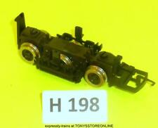 h198 hornby oo cl52 non-motorised trailing bogie nr xclnt c/w coupling & hook