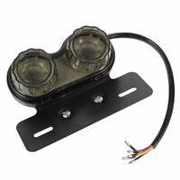 Motorcycle LED Dual License Plate Tail Brake Turn Signal Integrated Light Hot