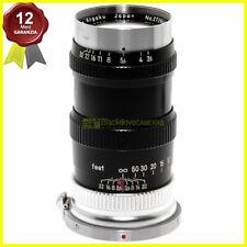 Obiettivo Nikon Nikkor Q 135 mm f3,5 per fotocamere a telemetro e Contax RF 13,5
