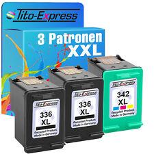 2x HP 336 & 342 XL Druckerpatrone für PSC Photosmart