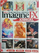 Imagine FX Annual UK Issue 1 Art & Advice Workshops Galleries FREE SHIPPING sb