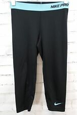 NIKE PRO Dri-Fit Capri II Legging Fitted Running/Fitness Pants Womens S 458659
