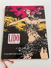 Programme Lido De Paris Revue Grand Prix