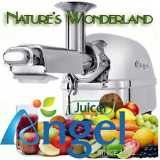 ANGEL Juicer 5500 NEW model AG-5500 Angelia Stainless Steel Twin Gear Cold Press
