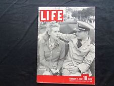 1943 February 1 Life Magazine - Dating In Casablanca - L 324