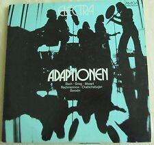 """Amiga LP Schallplatte Electra """"Adaptionen"""" Bach Grieg Mozart Rachmaninow Chat..."""