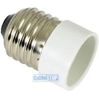 E27 Edison Screw to Small E14 SES Light Bulb Fitting Lamp Converter Connector