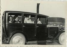 PHOTO ANCIENNE - VINTAGE SNAPSHOT - VOITURE TACOT FEMME AUTOMOBILE - CAR WOMAN