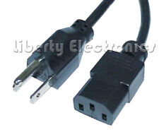 NEW AC POWER CORD for PC - COMPUTER EQUIPMENT 6 Ft.